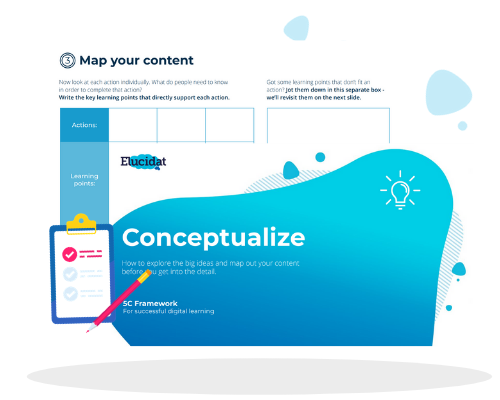 How to Conceptualize Your Elearning Ideas