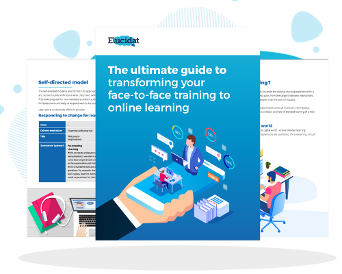 Transform Your Face-to-Face Training to Online Learning